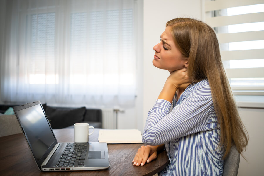 riesgos del trabajo en casa